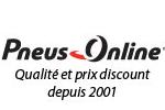 Codes promos et avantages Pneus Online, cashback Pneus Online