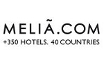 Codes promos et avantages Melia Hotels International, cashback Melia Hotels International