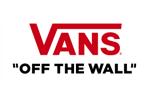 Codes promos et avantages Vans, cashback Vans
